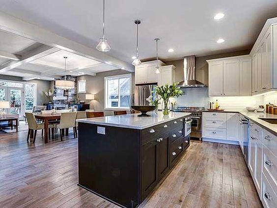 Great Stunning Open Concept Home Design Photos   Amazing Design Ideas .