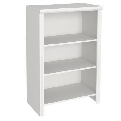Impressions White Laminate Organizer Collection Home Decor The Home Depot Shelf Organization Wood Closet Systems Shelves