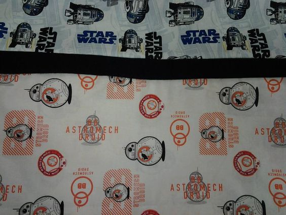 Custom Handmade The Force Awakens Character Pillowcase. Star Wars Rebels. Washable. Standard Pillow Size. by MissAmandaMadeIt4Me on Etsy