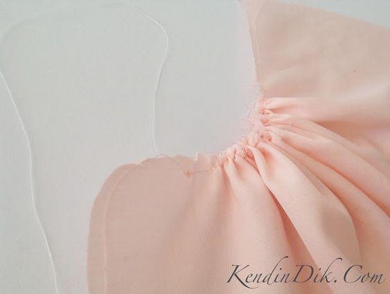 büzgü elbise