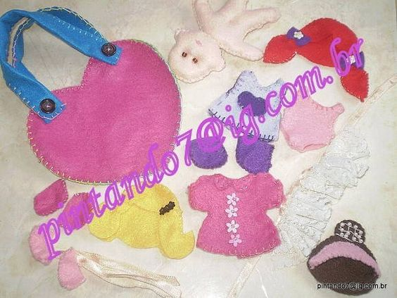 ♥Kit Boneca Iris Fashion cod: BIFK-002♥