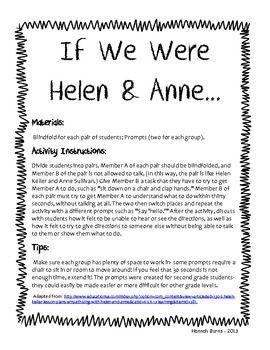 Helen keller essay