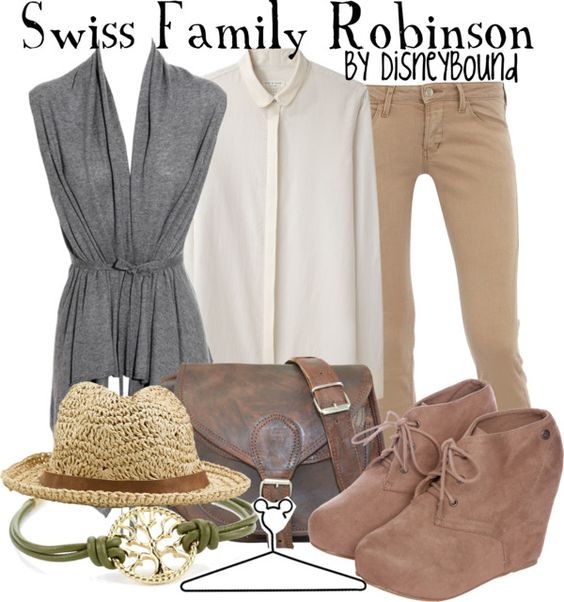 """""""Swiss Family Robinson"""" by lalakay ❤ liked on Polyvore"""