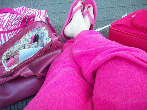 http://airlinepedia.net/pink-luggage.html The very best and cutest ...