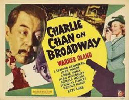 1937: Warner Orland, Keye Luke and Joan Marsh in Charlie Chan on Broadway