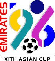 Logo Copa Asia 1996