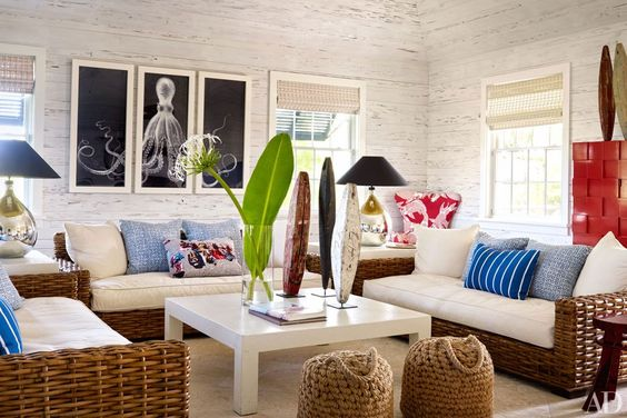 Step Inside Alessandra Branca's Bahamian Paradise// tropical decor, beach house design
