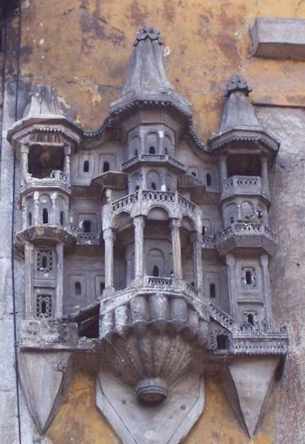 Las casas de pájaros de Estambul, Turquía