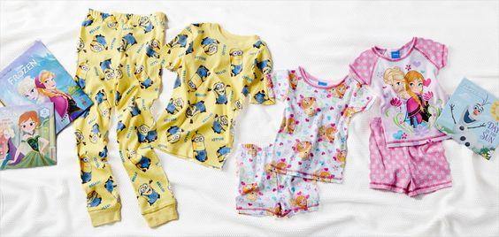 326208 The Kids' Pajama Party: Storybooks to Sleep Sets