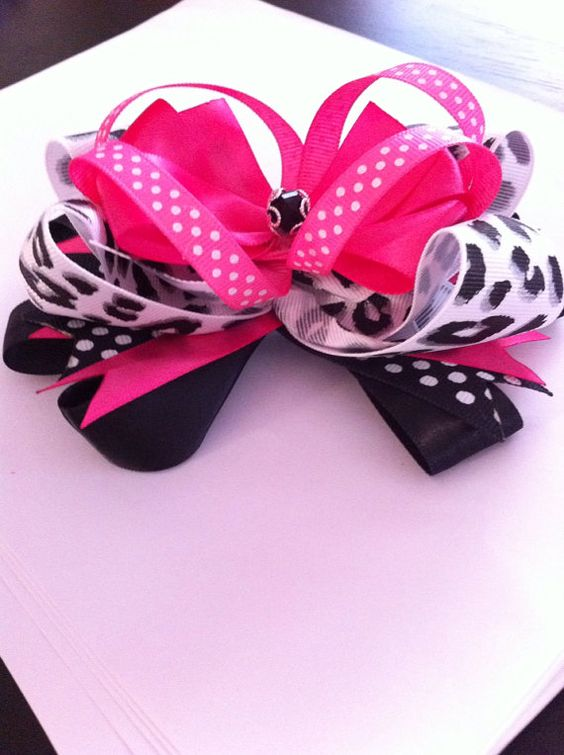 Custom 5 inch Boutique Style Hair Bow