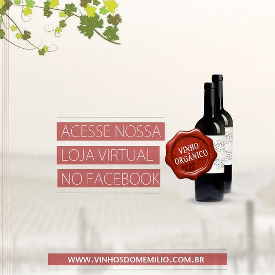 Agora você pode adquirir Vinhos Dom Emilio pelo Facebook. Acesse o link.