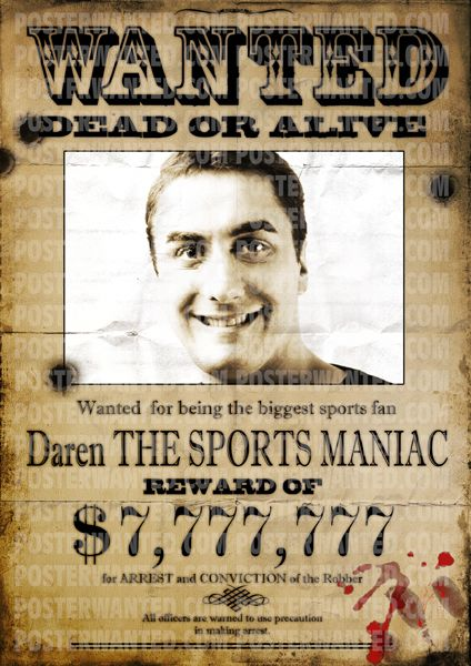 Real wanted signs can be made with wanted poster generator. Now ...