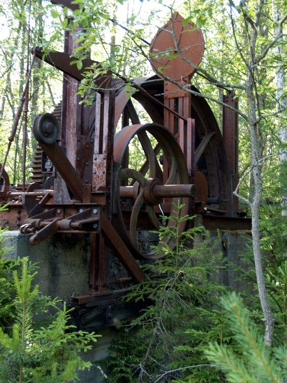 From the Hällsjö mine, Sweden