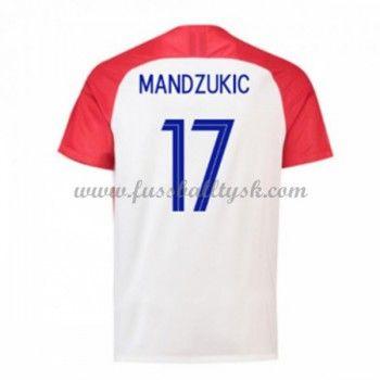 Fussball Trikots Kroatien Wm 2018 Mario Mandzukic 17 Heimtrikot Kurzarm Mario Mandzukic Shirts Mario