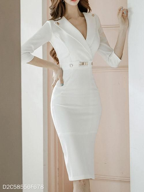 Kalem Elbise Modelleri Her Gune Bir Yudum Bilgi Elbise Modelleri Kalem Elbise Elbise