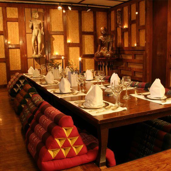 11 ème, 45 rue de la roquette, Blue Elephant, restaurant Thaï  ambiance jungle