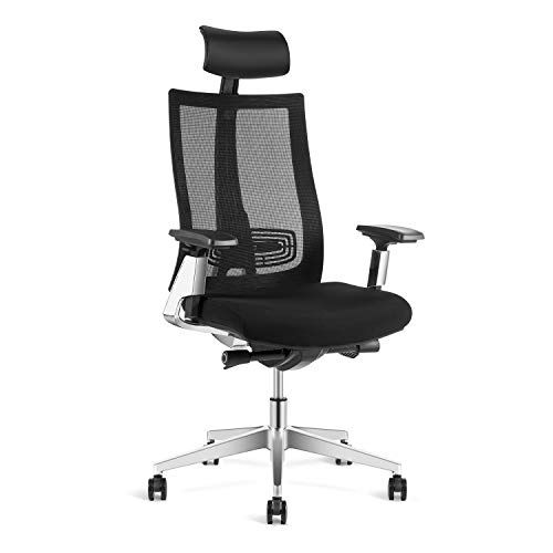 Ergonomic Adjustable Office Chair High Back Desk Chair With Lumbar Support Sliding Seat Wi Office Desk Chair Adjustable Office Desks Adjustable Office Chair