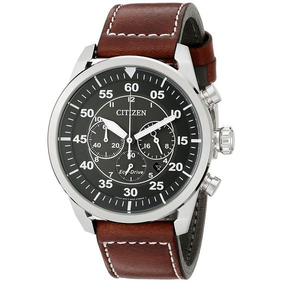 Citizen Watches CA4210-24E Eco-Drive Avion Watches (270 CAD) ❤ liked on Polyvore