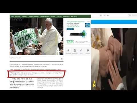 Papa Defende Fim do Trabalho aos Domingos