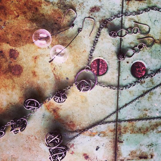 Sarah Stanton sterling silver jewelry at MIX!