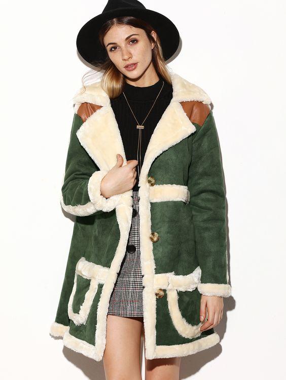 Sheepskin Suede Coat