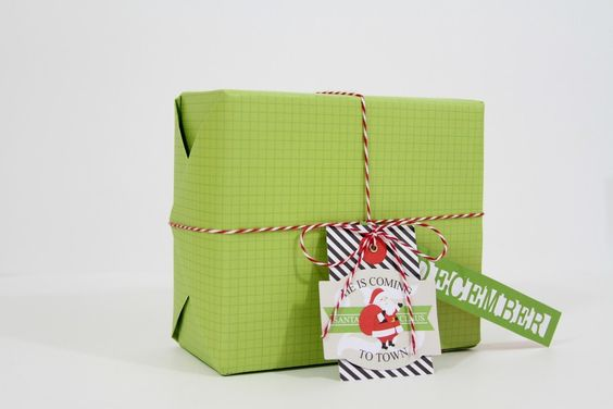 Video on how to perfectly wrap a gift for Christmas and parties Day One of the 12 Days of Christmas Gift Wrap Class