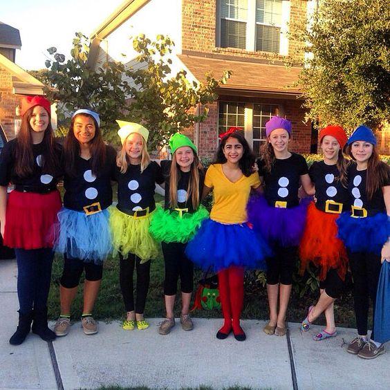 7 dwarfs costumes children fairy
