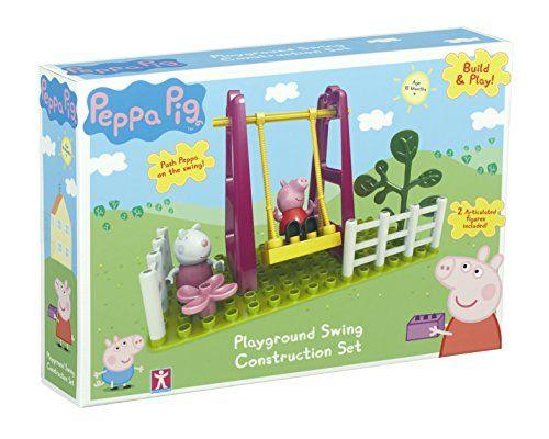 Peppa Pig Playground Swing Construction Set (Multi-Colour...…