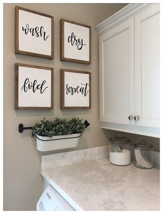 Decorating Ideas For The Home 00032 Laundry Room Wall Decor
