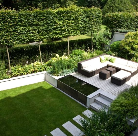 Wohnideen, Interior Design, Einrichtungsideen \ Bilder Terrassen - gartengestaltung mit steinen und grsern modern