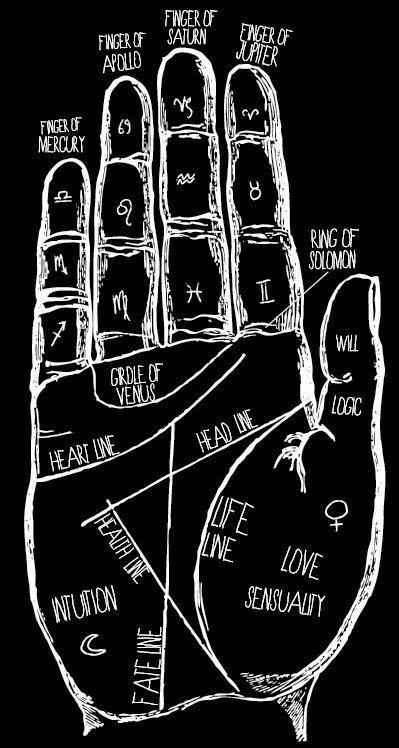 mains dessin