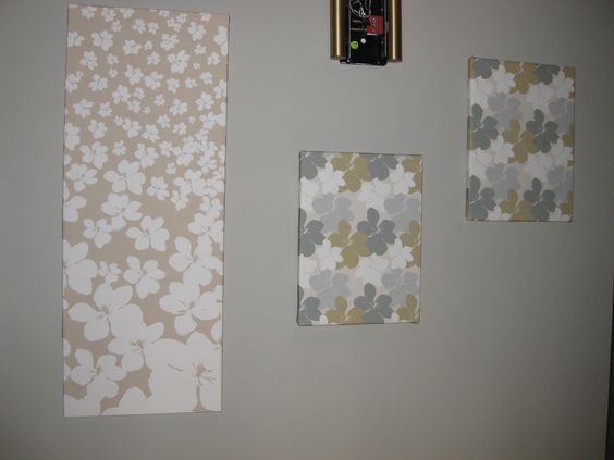 Fabric art (hallway)