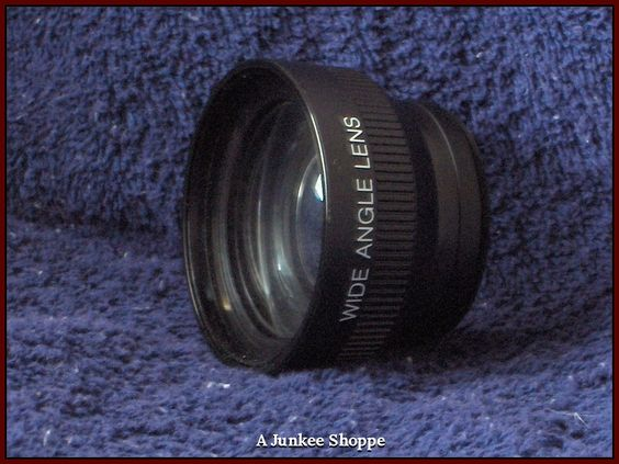 WIDE ANGLE Camcorder Camera Lens Made In Japan Generic Unbranded   HP 5296  http://ajunkeeshoppe.blogspot.com/