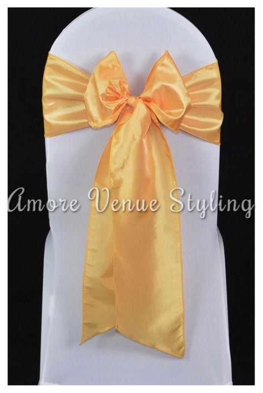 #wedding #sash #taffeta #canary #yellow #bow