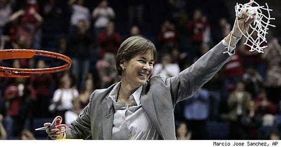 Tara Vanderveer- Stanford Womens Basketball Coach, one of the best to ever use a clipboard!!!