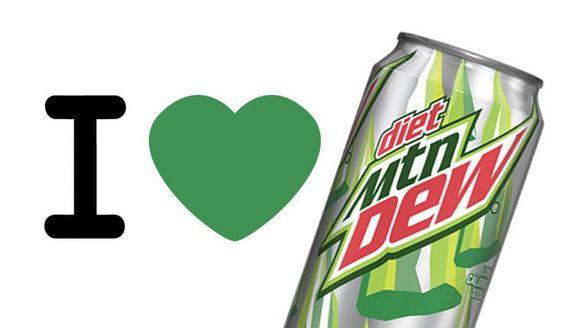 I <3 Diet Mountain Dew