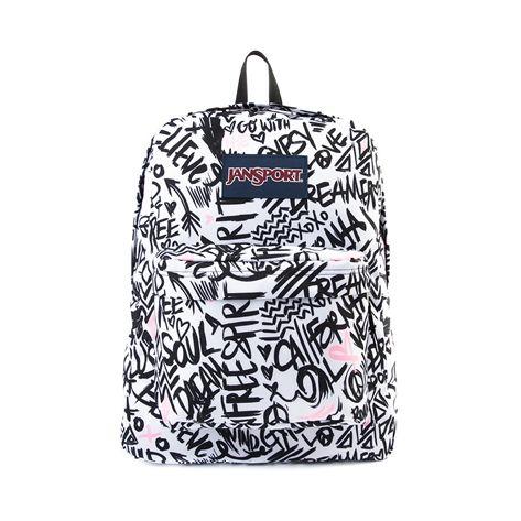 Jansport Black And White Backpack – TrendBackpack