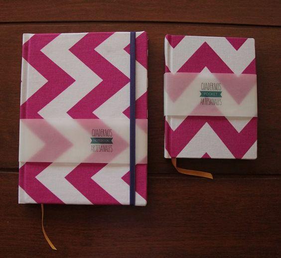 Cuadernos a5 y a6 cosidos a mano, con cinta señaladora y elástico opcional, 100 hojas lisas.