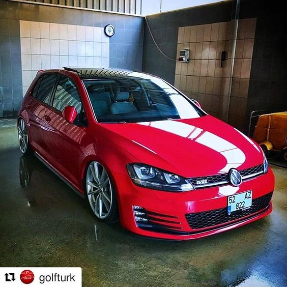 #vw #vwgolf #golf #golf7 #mk7 #modified #cool #instacool #good #instagood #instadaily #way #volkswagen #love #instalove #instacar #perfect #photography #photographer #photooftheday #king #vwlove #türkiye #red #wheels #gti #golfgti #goodnight