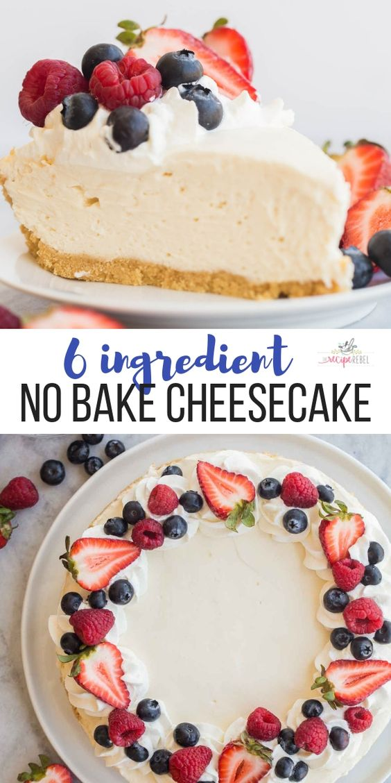 Easy Cheesecake Recipe