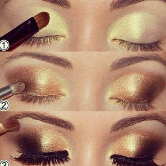 Brown eyeshadows