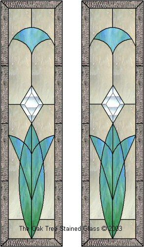 free stained glass cabinet door patterns 2