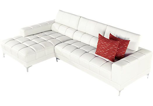 Shop For A Sofia Vergara Sybella Off White 2 Pc Sectional At Rooms To Go.  Find Sectionals That Will Look Great In Your Home And Complement The Restu2026