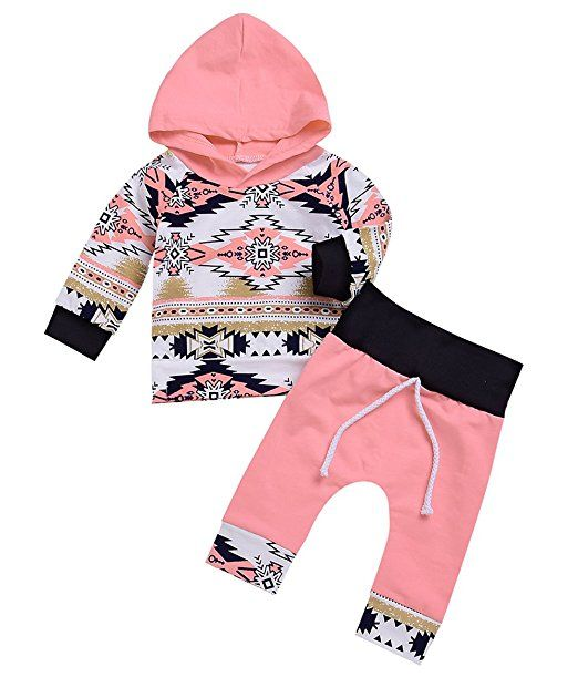 Toddler Baby Boys Hoodies Outfits Long Sleeve Print Hooded Sweatshirt Tops+Pants Fall Winter Clothes Set