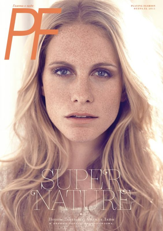 Poppy Delevigne for Playing Fashion by Brian Daly <3