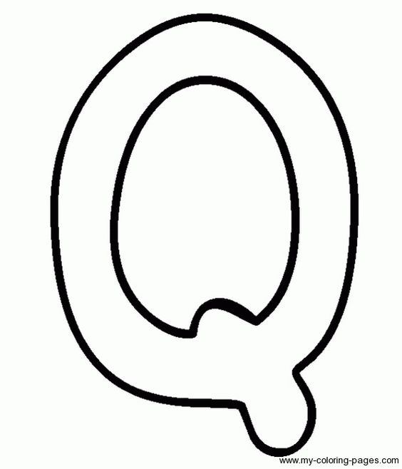 Image Gallery of Capital Letter Q