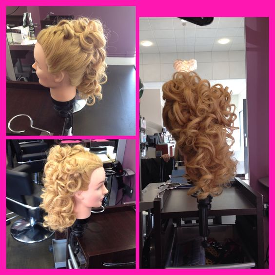 2 braids and curls by Daiva