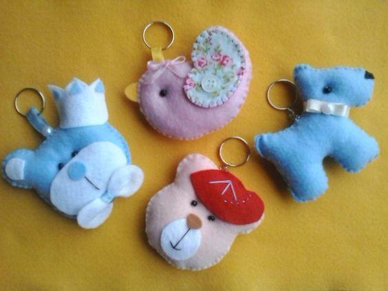 Lindos chaveiros para lembrancinhas ♡  Encomendas   a.anelise@hotmail.com