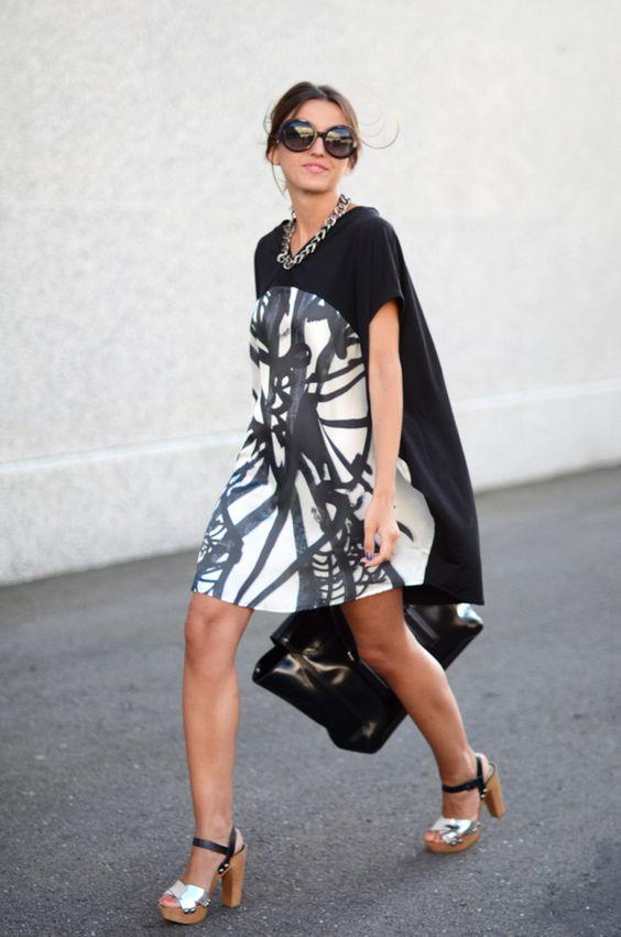 sandals: Lovely Pepa x Krack – Golden (s/s 12)  dress: Sheinside (s/s 12)  necklace: Mango (au/w 11-12)  bag: 3.1 Phillip Lim  sunglasses: Prada – Ópticas Peláez  bracelets: Marc by Marc Jacobs + Storets