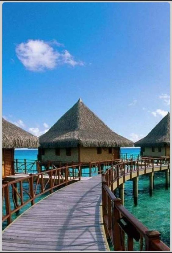 French Polynesia ... what a great resort!!